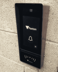 Paxton Net2 Entry Touch Panel Installed