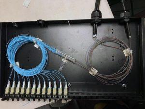 OM3 Fibre Optic Backbone Installed